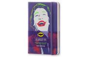 Moleskine 2017 Batman Limited Edition Weekly Notebook, 12m, Pocket, Violet, Hard Cover