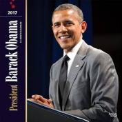 President Barack Obama 2017 Square