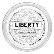 Beard Balm by Liberty Premium Grooming Co. ※ Small-Batch Limited Collection ※ Tobacco + Vanilla Scented ※ Whisker, Goatee, Moustache Softener & Conditioner w/ Natural Blend Of Essential Oils