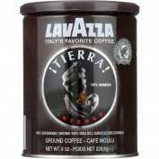 Lavazza Coffee - Can - Ground - Tierra Intenso - 240ml - 1 each - Gluten Free - Dairy Free - Yeast Free - Wheat Free-Vegan