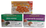 Caramel & Girl Scout Cookie Tea Bundle - Three items