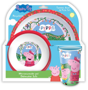 Peppa Pig 'Once Upon a Time' 3pc Mealtime Set