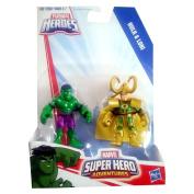 Playskool Heroes Super Hero Adventures Hulk & Loki Toy