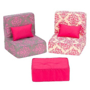 Our Generation Sectional Sofa and Footrest Set