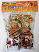 1/32 Roman / Greek Warriors & Armour Figure Playset - Sunjade - 1/32 Scale Plastic Toy Soldiers set.