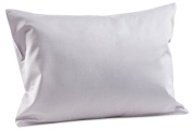 Toddler Travel Pillowcase 100% Softest Cotton Sateen - Pillow Covers Fit 36cm x 48cm , or 33cm x 46cm Toddler / Baby Pillow or Travel Neck Pillows- Naturally Hypoallergenic- Envelope Style 400/500 TC