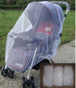 Yosoo Mosquito Net Toddler Bed Crib Canopy Mosquito Netting Fits Most Strollers Bassinets, Cradles and Car Seats