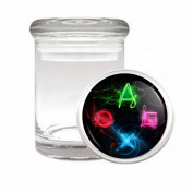 Playstation Medical Odourless Glass Jar