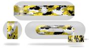 WraptorCamo Digital Camo Yellow Skin fits Beats Pill Plus