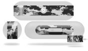 WraptorCamo Digital Camo Grey Skin fits Beats Pill Plus