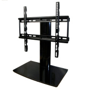 Small TV Stand - Universal with Swivel and Height Adjustment for 60cm - 100cm TVs - Aeon 60112