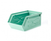 Kikkerland Metal Storage Container, Green