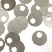 ImpressArt, Offset Washer, Nickel Silver, 2.2cm Stamping Blanks- 24 pc.