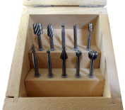 DYNAMIC 10 Piece Engraving Set In Wooden Box