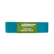 Soft Waistband Elastic 2.5cm - 1.3cm X2yd-Tile Blue
