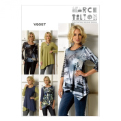 Vogue Patterns V9057 Misses' Top Sewing Template, ZZ