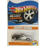 VEYRON Hot Wheels 2011 Mexico Convention Bugatti VEYRON Very Rare Limited Edition 1:64 Scale Collectible Die Cast Car...