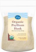 Viva Labs Organic Psyllium Husk Powder, 710ml Bag - The BEST Everyday Fibre Support, Ultra Fine for Easy Mixing
