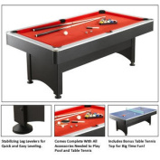 Maverick 2.1m Pool Table With Table Tennis By Carmelli