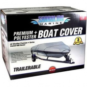 BOAT COVER grey DLX H