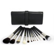 Bdellium Tools Professional Antibacterial Makeup Maestro Series Complete 12pc. Brush Set with Roll-up Pouch