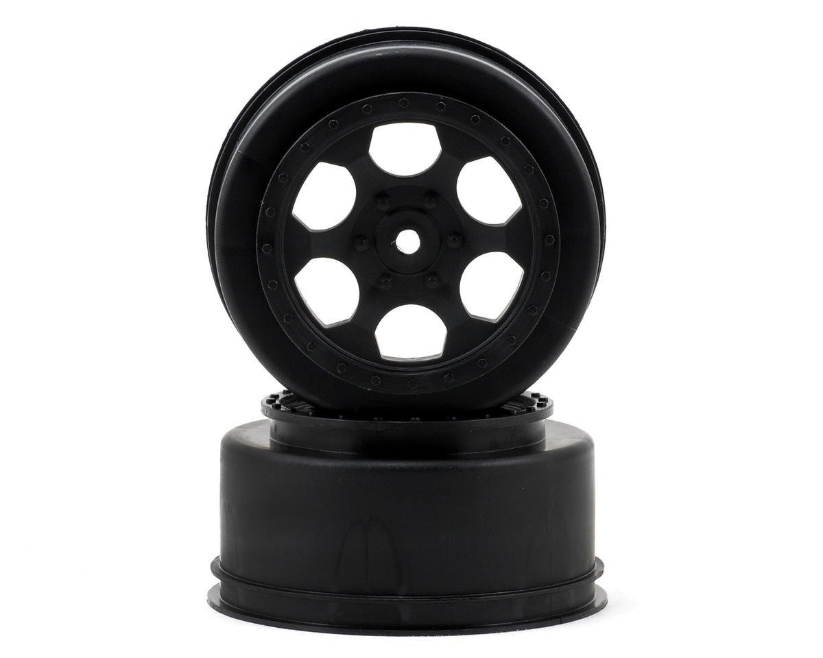 De Racing DER-SCT-LFY Yellow Triidad Front Wheel For Losi XXX-SCT or XXX-SCB 2