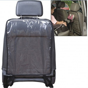 Vivo © New Car Auto Seat Back Protector Cover For Children Kick Mat Mud Clean Clear Leather Kids Kicking