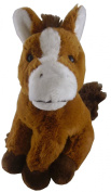22cm Animal Planet Farmyard Cuddly Plush - Horse - Soft Toys