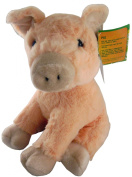 22cm Animal Planet Farmyard Cuddly Plush - Pig - Soft Toys