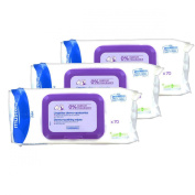 Mustela Dermo-soothing Wipes Delicately Fragrance-free 210 Wipes