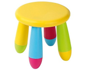 Child's Rainbow Coloured Nursery Stool - Suitable for Indoor and Outdoor Use