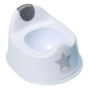 Strata Potty - Silver lining White Potty With Silver Star Design