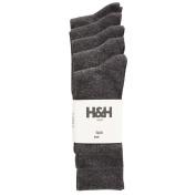 H & H Men's Crew Socks 5 Pack
