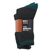 Rivet Men's Work Socks 5 Pack