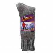 Alpsocks Women's Thermal Rollover Top Socks