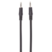 Necessities Brand 3.5mm-3.5mm Aux Cable 1.2m Black
