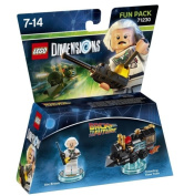 LEGO Dimensions Fun Pack Back To The Future Doc Brown