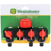 Westminster Tap 4 Way Adaptor