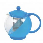 Glass Tea Infuser 1250ml Assorted Colours
