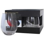 Harrison & Lane Stemless Wine Glasses 4 Pack