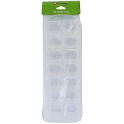 Necessities Brand Brand Ice Cube Tray-Single Clear