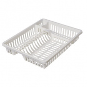 Plastic Dish Drainer White