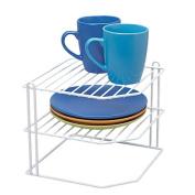 Sort It Pantry Wire Corner Plate Rack