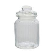 Sort It Ridge Glass Jar 1000ml