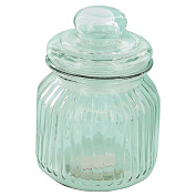 Sort It Ridge Glass Jar 600ml