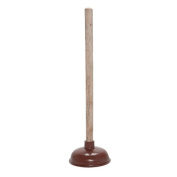 Sink Plunger with Wooden Handle 13.5cm