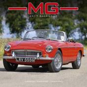 MG Calendar- Calendars 2016 - 2017 Wall Calendars - Car Calendar - Automobile Calendar - MG 16 Month Wall Calendar by Avonside