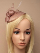 Allsorts Nude Headband Aliceband Hat Fascinator Wedding Ladies Day Race Royal Ascot