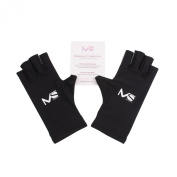 MelodySusie® LYCRA UV Shield Gloves - a Must-Have UV Shield Gloves for UV/LED Nail Lamp Dryer Accessory