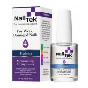 Nail Tek Nail Treatments - Moisturising Strengthener - Hydrate IV - 0.5oz / 15ml